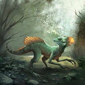 Giant Basilisk Lizard